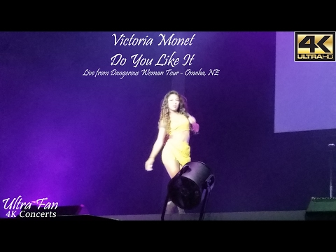 Victoria Monet - Do You Like It Live from Dangerous Woman Tour Omaha