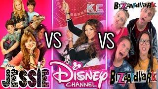 Jessie , KC Undercover , Bizaardvark Musical.ly | Disney Channel Stars Musically Battle