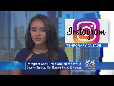Instagram Goes Down Around The World