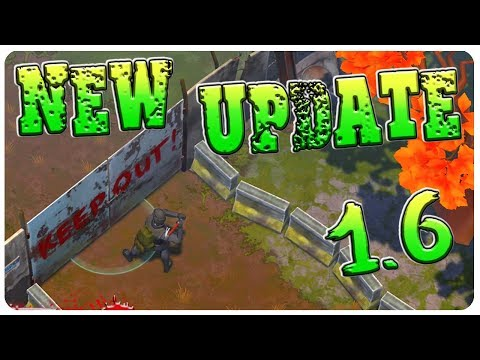 UPDATE 1.6! Watchtower, Metal Base, New Zombies n' Recipes! | Last Day On Earth Survival