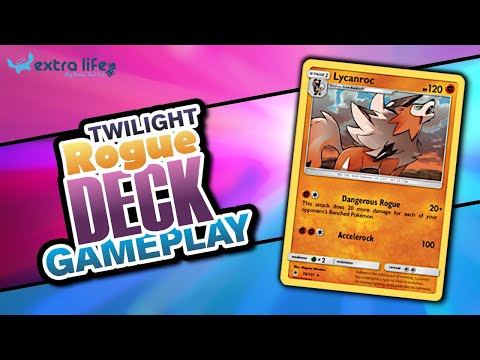 TWILIGHT ROGUE Theme Deck Review & Gameplay - Pokémon TCG Online