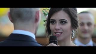 Стильный жених и красотка невеста на еврейской свадьбе в Харькове.