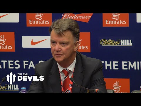 Louis van Gaal Presser | Everton 1-2 Manchester United | 'Why So Negative?'