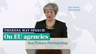Theresa May lays out 'hard facts' in Brexit speech