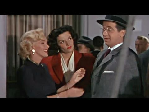 Jane Russell & Marilyn Monroe  Bye bye baby  HD 1953  Hommage  Tribute