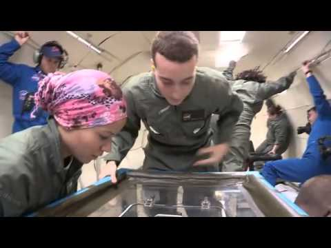 Students Test Experiments in Microgravity