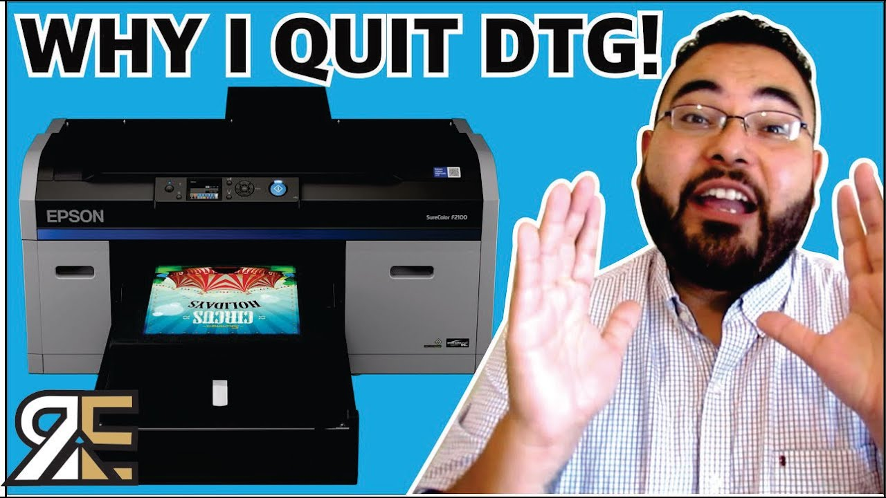 Download WHY I QUIT DTG (Direct To Garment) BUSINESS -PROS and CONS