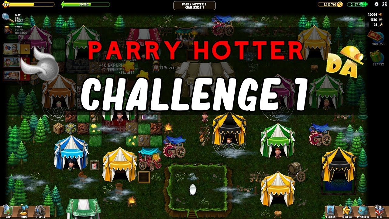 Diggy Halloween 2020 Challenge 2 Matches Parry Hotter's Challenge 1 | Parry Hotter #10 | Diggy's Adventure