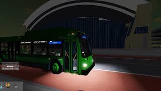 (Roblox) Tobes Transportation Authority - 2019 New Flyer XD40 1912 - Falcon Blue à High Park