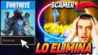 💣Le SCAMEO y ELIMINA el FORTNITE de su PS4💣 (INCREIBLE)😱 -Fortnite Scameando a Scamer / ItsKrufy