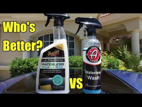 Meguiar's Waterless Wash VS. Adam's Waterless Wash Competition!