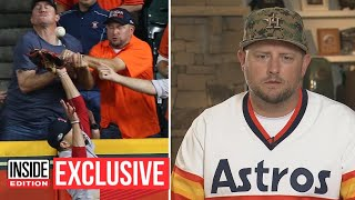 Astros Fan Involved in Controversial Pl...