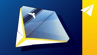 Beautiful Paper Glider — Learn How to Fold Elanus