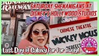 🔴 LIVE:Saturday Shenanigans at Disney's Hollywood Studios