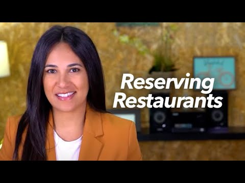 How to Make Reservations at Restaurants in Spanish