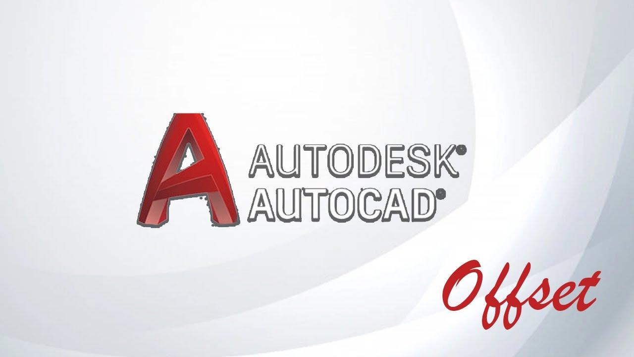 autocad equidistancia  desfase  offset