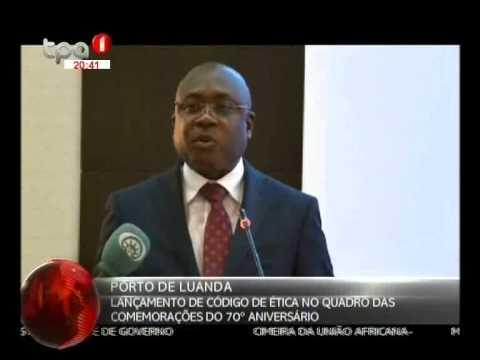 Porto de Luanda - Lançamento do Código de Ética