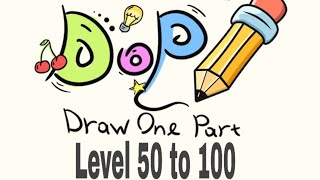 DOP Draw One Part Walkthrough Level 50 to 100