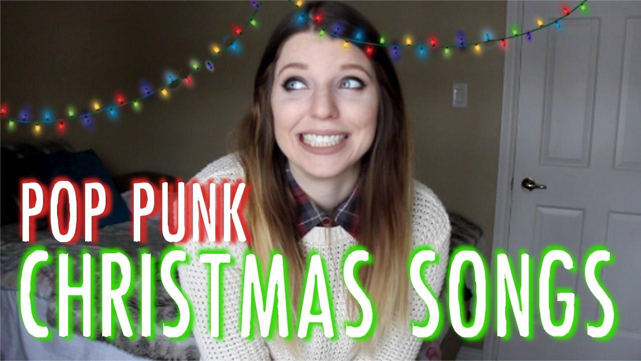 TOP 10 POP PUNK CHRISTMAS SONGS - YouTube