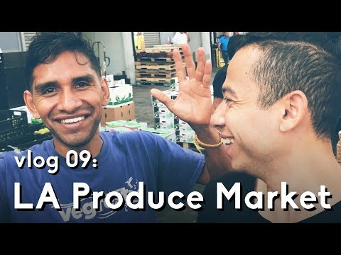 Los Angeles Produce Market and Climbing | Vlog 09