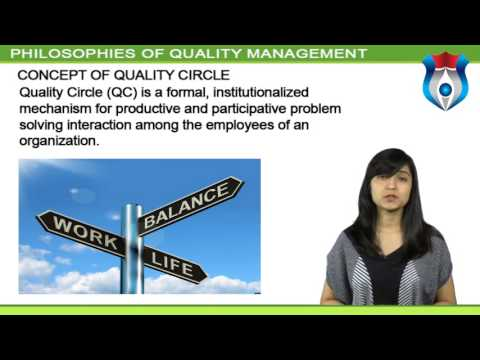 PHILOSOPHIES OF QUALITY MANAGEMENT