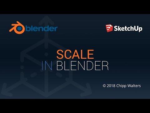 Using Scale In Blender