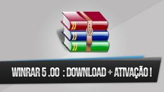 Winrar 5.00 PT-BR : Download + Ativação (32 & 64 Bits) !