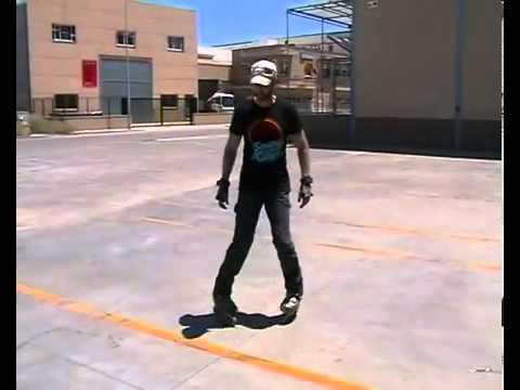 Hướng dẫn patin - Cách trượt lùi 2