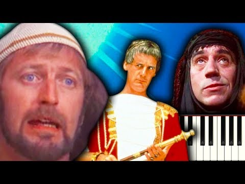 ALWAYS LOOK ON THE BRIGHT SIDE OF LIFE (Monty Python's Life of Brian) - Piano Tutorial