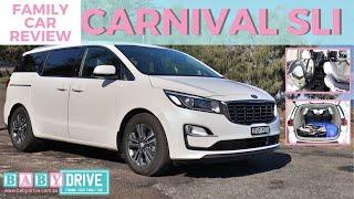 Family car review: Kia Carnival SLi 2018