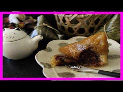 紅豆鹼粽(小蘇打粉版本) - YouTube