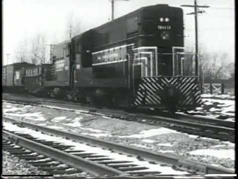 Three Giant Steps (New York Central Promotional film from 1957)