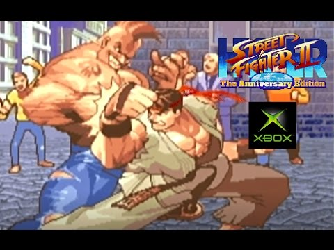 Hyper Street Fighter II: The Anniversary Edition Playthrough (Xbox)