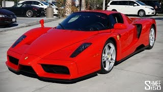 Ferrari Enzo Ride-a-long with Collector David Lee
