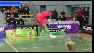 Top 10 badminton shots too great