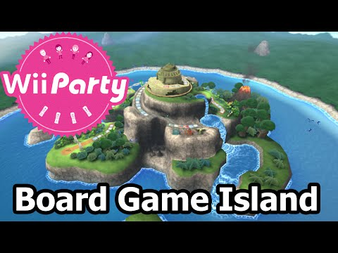 Wii Party - Party Mode - Board Game Island