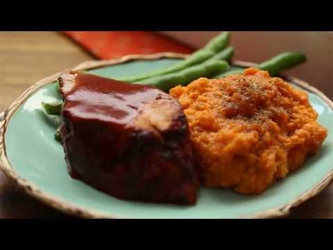 How to Make Mashed Sweet Potatoes   Sweet Potato Recipes   Allrecipes.com