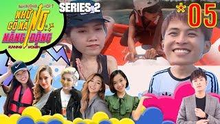 RUNNING WOMEN 2 - NCNND #5 FULL | Nhật Hà Gin Tuấn Kiệt LƯỚT SÓNG cảm giác mạnh cực đã ở Bình Thuận