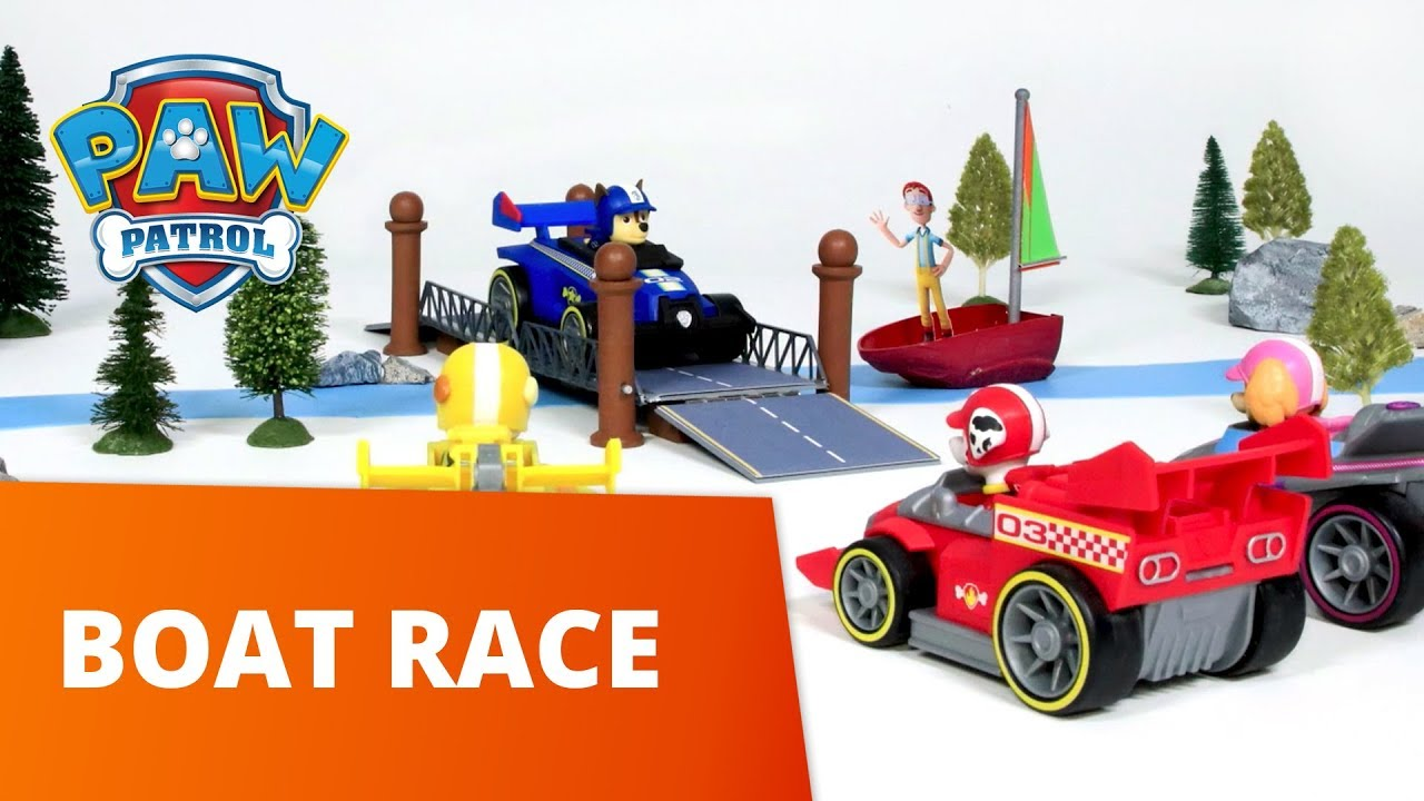 PAW Patrol   Boat Race   Toy Episode   PAW Patrol Official & Friends