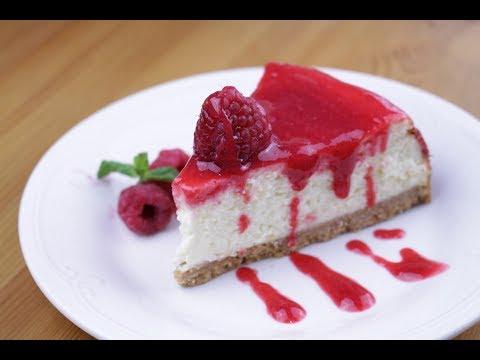 cheesecake-à-la-framboise