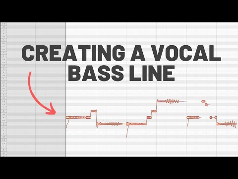 Creating a Vocal Bass Line (Using Melodyne)