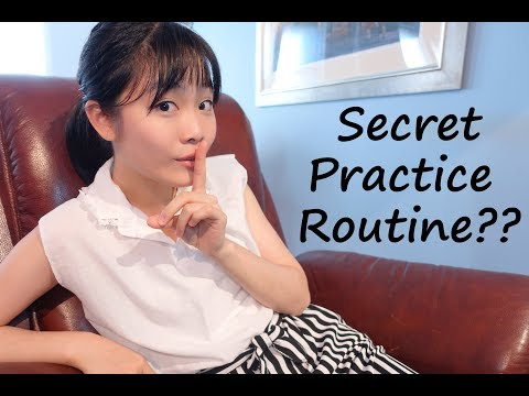 Watch My Secret PRACTICE ROUTINE | Tiffany Vlogs #14