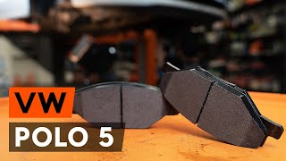 Jak wymienić przednie klocki hamulcowe w VW POLO 5 (612) [PORADNIK AUTODOC]