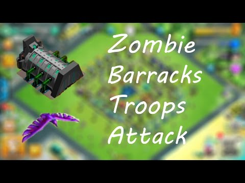 Zombie Birds | Zombie Barracks Troops | Clash of Zombies/Zombies Clash