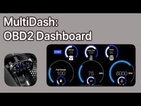 Best Car/Automotive OBDII Digital Dashboard IPhone IOS App For Under $5