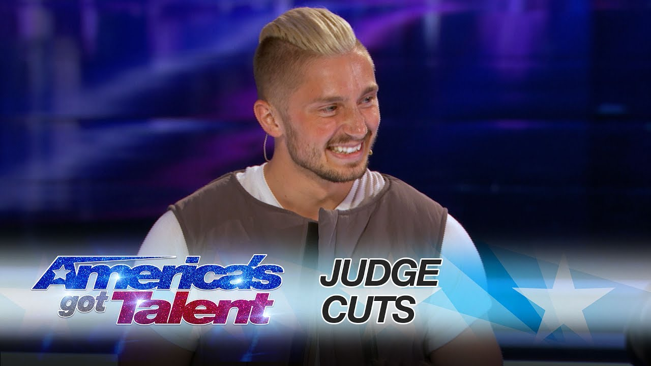 Americas got talent 2017 mind reader - Tom London Tech Savvy Magician Goes Around The World With Magic Trick America S Got Talent 2017
