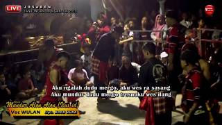 MUNDUR ALON ALON (ILUX ID) Cover Voc WULAN - SAMBOYO PUTRO Live JOSAREN 2019