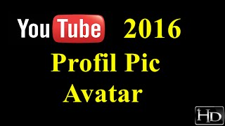 How To Change Y๐ur YouTube Profile/Avatar Picture 2016 - WORKS