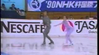 Natalia Mishkutenok & Artur Dmitriev - 1990 NHK Trophy - LP