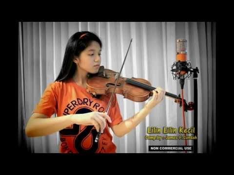 Lilin Lilin Kecil -- Clarissa Tamara ( Violin Cover )